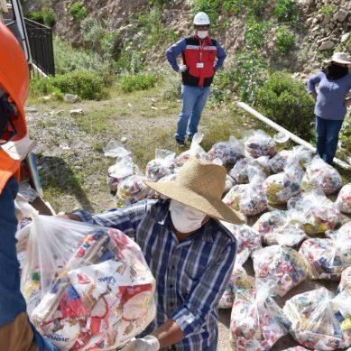 Moquegua: Anglo American repartirá desde esta semana 4,500 canastas de víveres