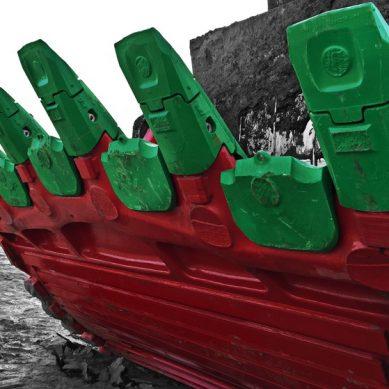 Weir ESCO automatiza el proceso de cambio de dientes y labios de equipos pesados
